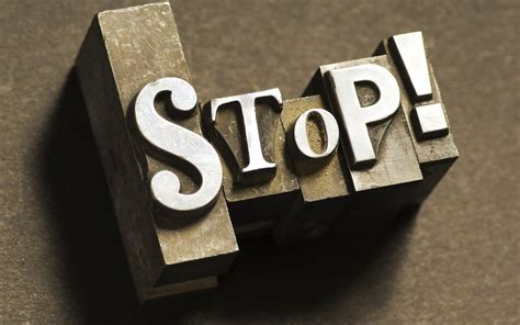 stop wallpapers stop stock