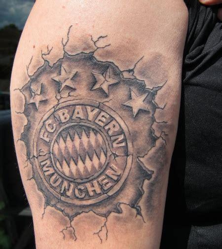 gammaray fc bayern muenchen tattoos von tattoo bewertungde