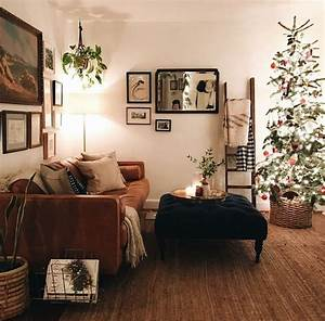 55, Small, Apartment, Christmas, Tree, Living, Room, Decor, Ideas