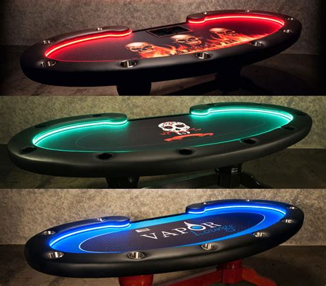 lumen hd poker table  led lighting system p