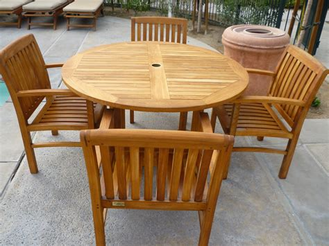 wintertime care for outdoor teak furniture in san diego