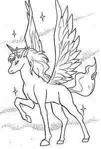 Free baby pegasus unicorn coloring pages
