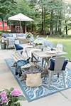 My Affordable Patio Furniture and Outdoor Decorating Tips outdoor patio decorating ideas