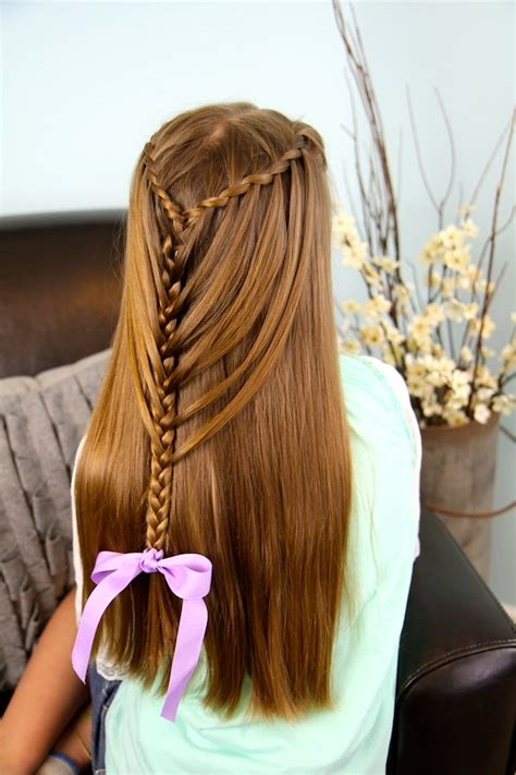 Waterfall Twists Into Mermaid Braid Cute Hairstyles