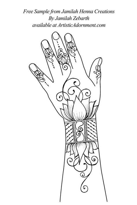 Jamilah Henna Creations by Jamilah Zebarth - $10.00 : Artistic Adornment, Henna Supplies - henna
