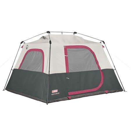 coleman 10 person instant cabin tent coleman 6 person family waterproof cing instant cabin