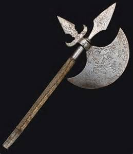 Battle Axe Weapon