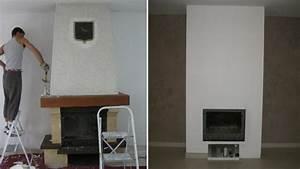 idees et astuces pour relooker votre cheminee With de quelle couleur peindre son salon 15 bien choisir sa porte interieure leroy merlin