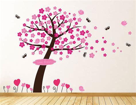 princess blossom tree wall stickers  parkins interiors