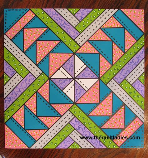Barn Quilts Patterns Painting by The Quilt Tutorial How To Paint A Barn Quilt