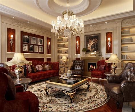 Model Living Room Set by Luxury Living Rooms Luxury Living Room 3d Model