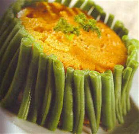 cuisiner haricots beurre de carottes en mousseline avec haricots verts