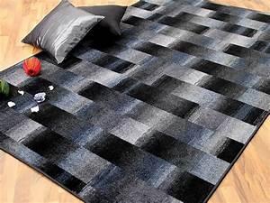Teppich Grau Blau : designer velour teppich mystic karo blau grau teppiche designerteppiche mystic teppiche ~ Indierocktalk.com Haus und Dekorationen