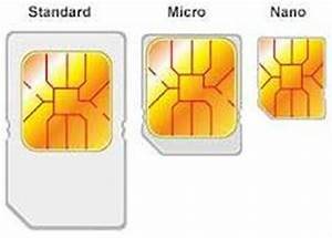 micro sim card sizes