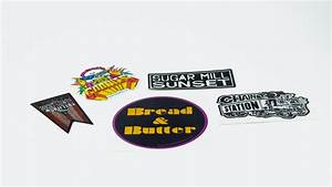 custom printed band stickers stickergiant With can you print stickers at staples