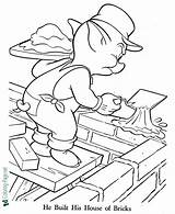 Coloring Pigs Three Printable Pages Below Fairy sketch template