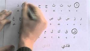 Student learning to write Arabic words (free worksheet ...  Arabic