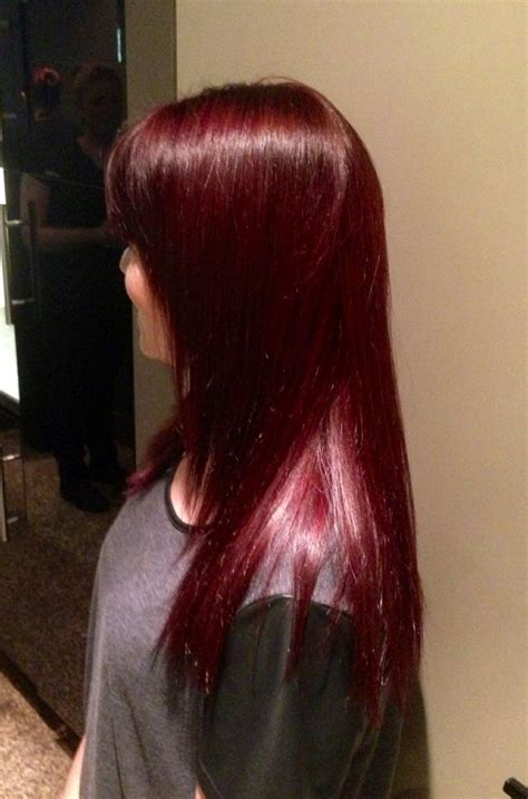 Shiny Hair Color by Violet Shiny Hair Colour Rich Reds