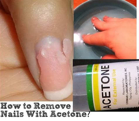How To Easily Remove Acrylic Nails With Acetone Alldaychic