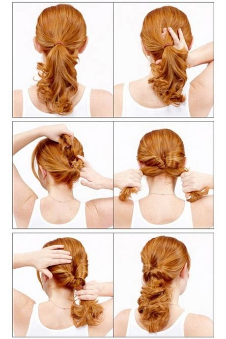 easy hairstyles on the go fun and easy hairstyles