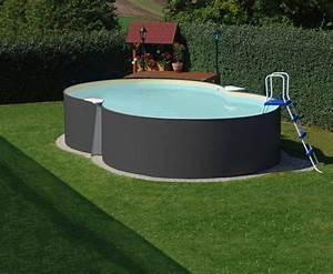 Pool Auf Rechnung : hanseatic achtformpool achtformpool set anthrazit 6 tlg ~ Themetempest.com Abrechnung