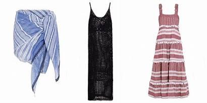 Beach Suit Summer Ups Bathing Elle Coverups