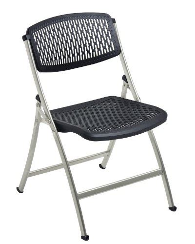 flex one folding chair black gray 4 pack monte carlo