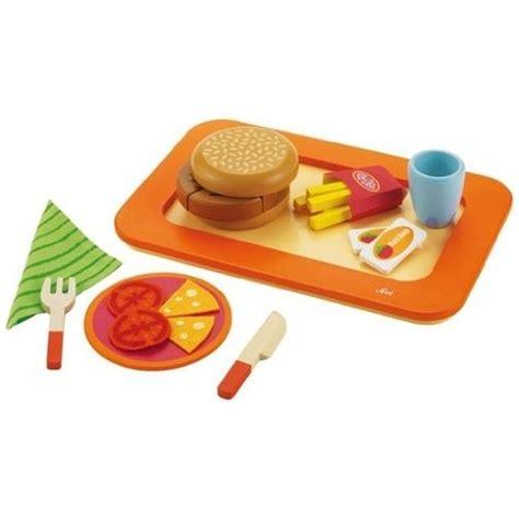 jeux de cuisine frite dînette hamburger frites jouet aliments à découper jeu d
