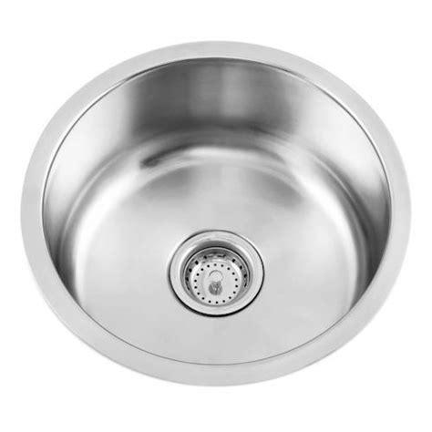 Round Stainless Steel Undermount Bar Sink Kitchen
