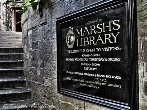 nerdy dublin marshs library dublin