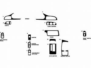 1994 Chevrolet Camaro Dash Kits