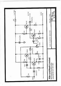 Quasi Schematic Output Amplifier  Service Manual  Repair
