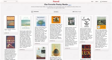 Our Favorite Pinterest Profiles For Decorating Ideas: New On Pinterest: Our Favorite Poetry Books