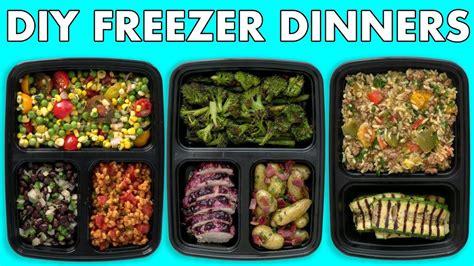 freezer meals healthy meal prep freezer dinners mind