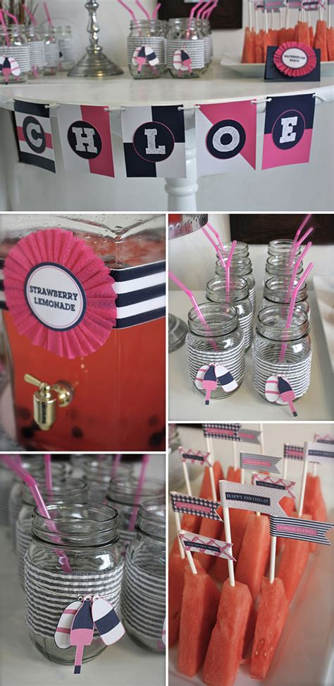 Sailboats Ahoy! It's A Nautical Party!  B Lovely Events