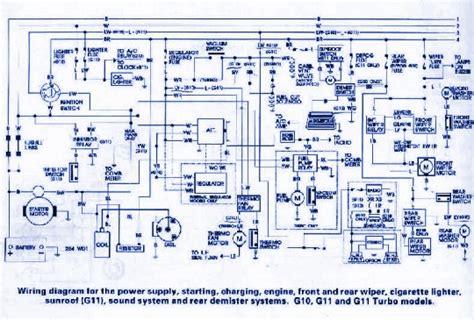 Daihatsu Navigation Wiring Diagram by Daihatsu G10 Wiring Diagram Auto Wiring Diagrams
