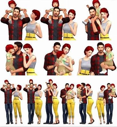Sims Poses Rinvalee Couple Cc Ts4 Pose