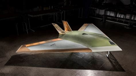 Bae's Magma Stealth Drone Has A Completely Smooth Surface