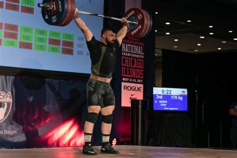 Burns Takes Usas First Pan American Weightlifting Gold In
