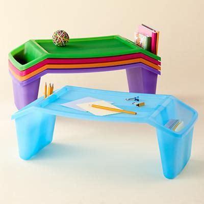 Kids Tv Trays, Plastic Lap Tray With Pockets Kids Plastic