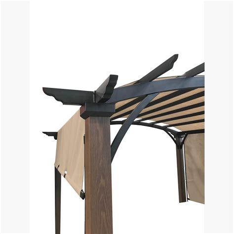 replacement canopy  ar freestanding pergola riplock