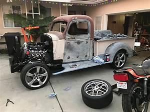1946 Chevy Truck S10 Frame Swap