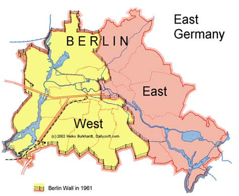 a brief history of some walls the berlin wall