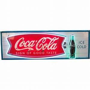 Coca Cola Neon Sign w