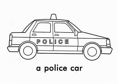 Police Coloring Pages Printable Template Printables Colouring