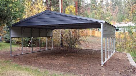 20x20 metal carport 20x30 carport frame metal buildings homes rv canopy 24x30