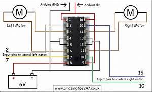 Pin Diagram Of L293d Motor Driver