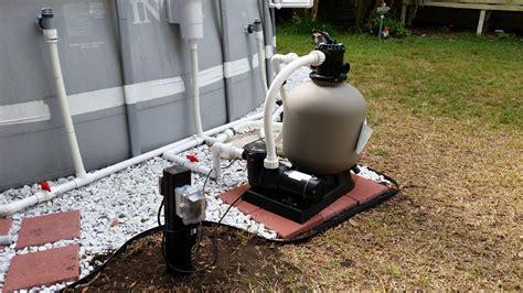 How To Upgrade Intex Pool With Hard Plumb, Pool Pump, Sand