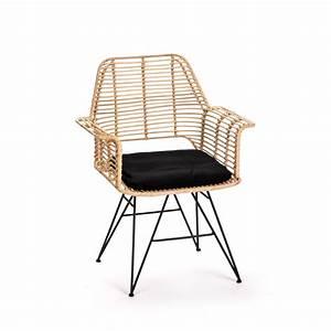 Fauteuil Rotin Design : fauteuil design en rotin iguazu drawer ~ Nature-et-papiers.com Idées de Décoration