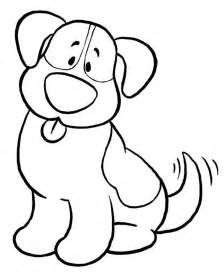 Simple Dog Coloring Pages Ekids Pages Free Printable